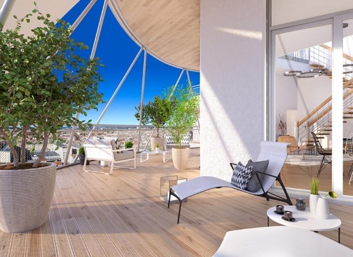 Appartements neufs Les Gares référence 4592 : aperçu n°5