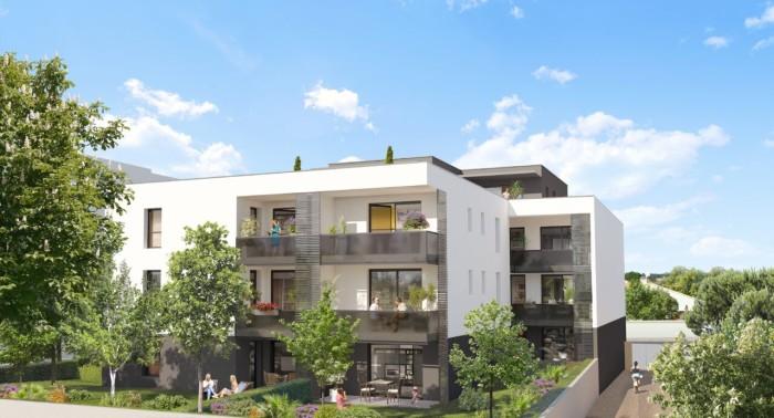 Appartements neufs Castelnau-le-Lez référence 4627 : aperçu n°2