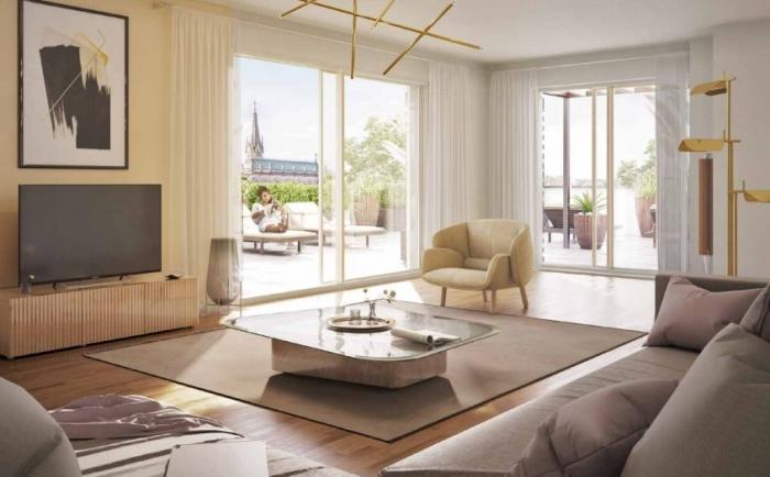 Appartements neufs Les Beaux-Arts référence 4635 : aperçu n°1