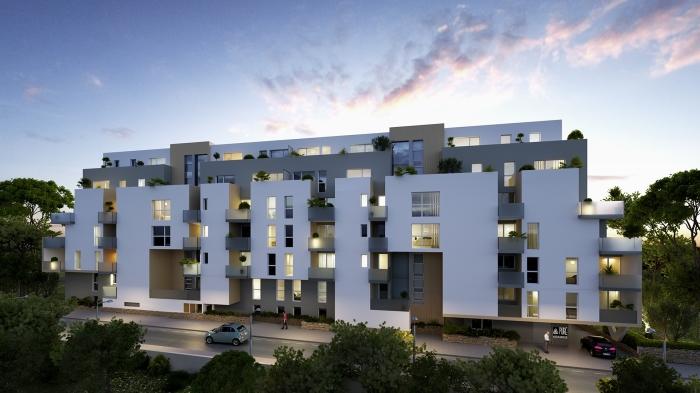 Appartements neufs Aiguelongue référence 4639 : aperçu n°0