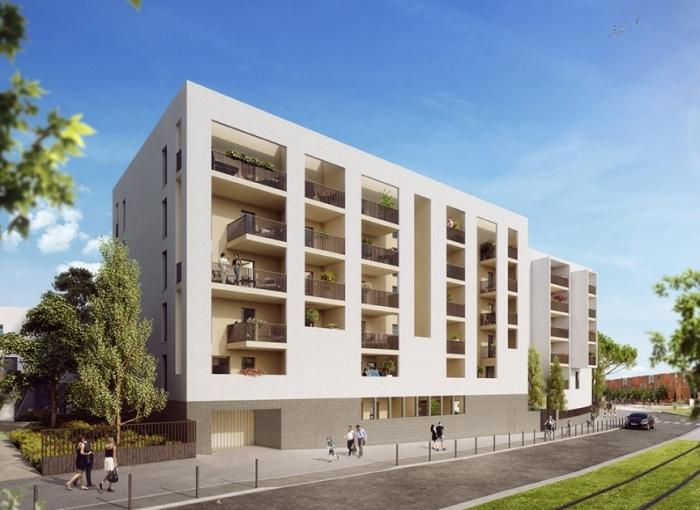 Appartements neufs Près d'Arènes référence 4641 : aperçu n°1