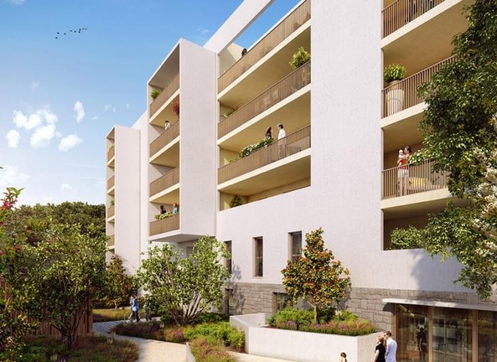 Appartements neufs Près d'Arènes référence 4641 : aperçu n°2