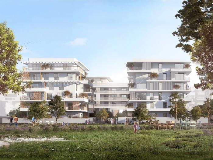 Appartements neufs Castelnau-le-Lez référence 4642 : aperçu n°1