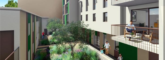 Appartements neufs Juvignac référence 4643 : aperçu n°3