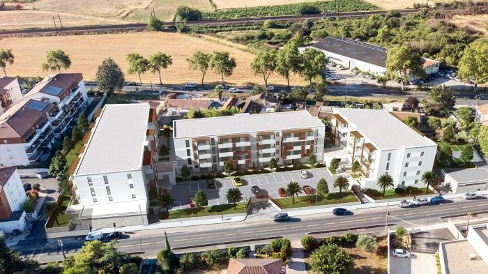 Appartements neufs Baillargues référence 4665 : aperçu n°2