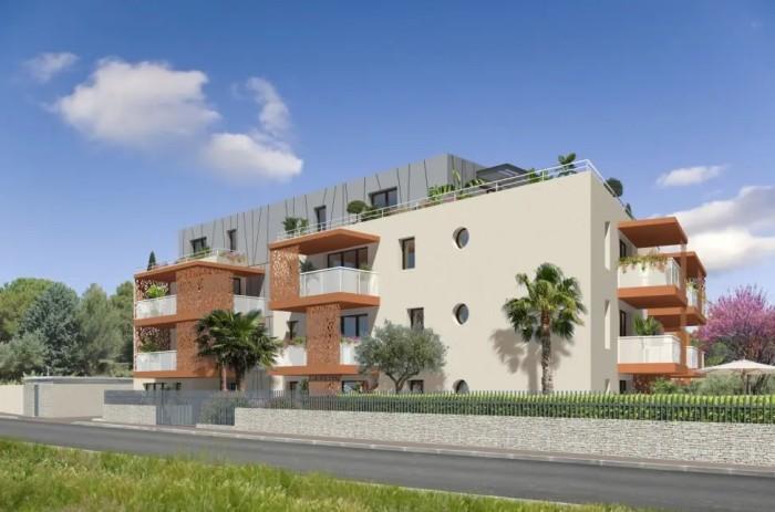 Appartements neufs Baillargues référence 4667 : aperçu n°1