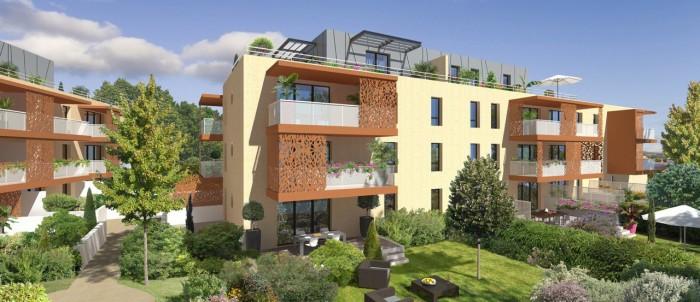 Appartements neufs Baillargues référence 4667 : aperçu n°2