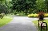 Parc arboré paisible en centre-ville