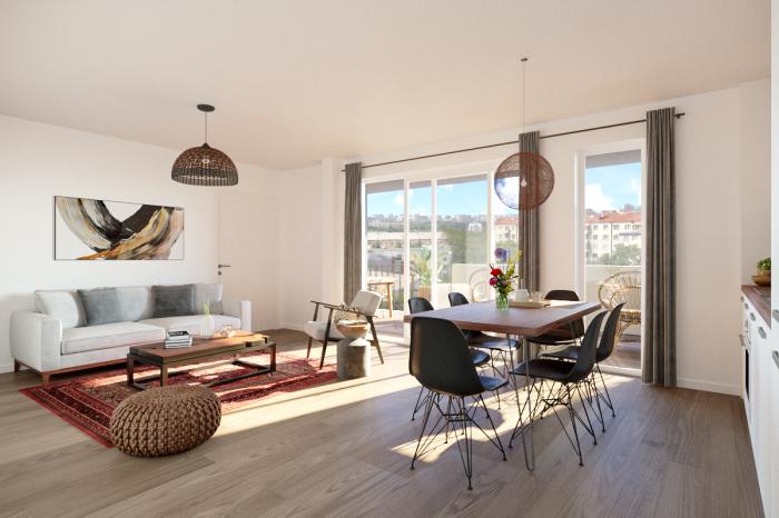 Appartements neufs Alco référence 5123 : aperçu n°2