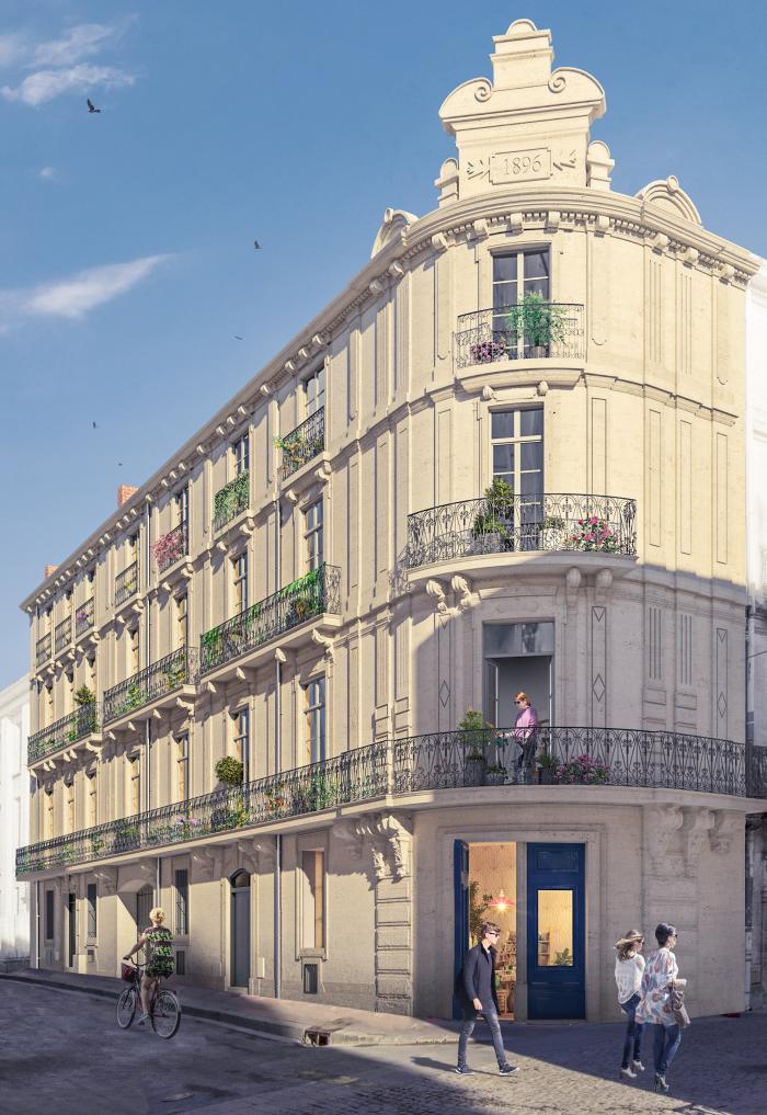 Appartements neufs Les Arceaux référence 5117 : aperçu n°0