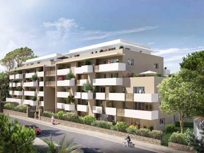 Appartements neufs La Pompignane référence 5118 : aperçu n°0