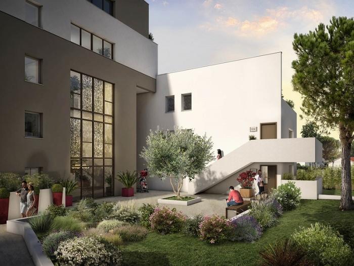 Appartements neufs La Pompignane référence 5118 : aperçu n°3
