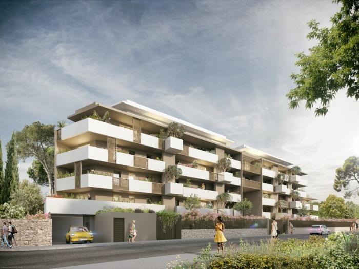 Appartements neufs La Pompignane référence 5118 : aperçu n°5