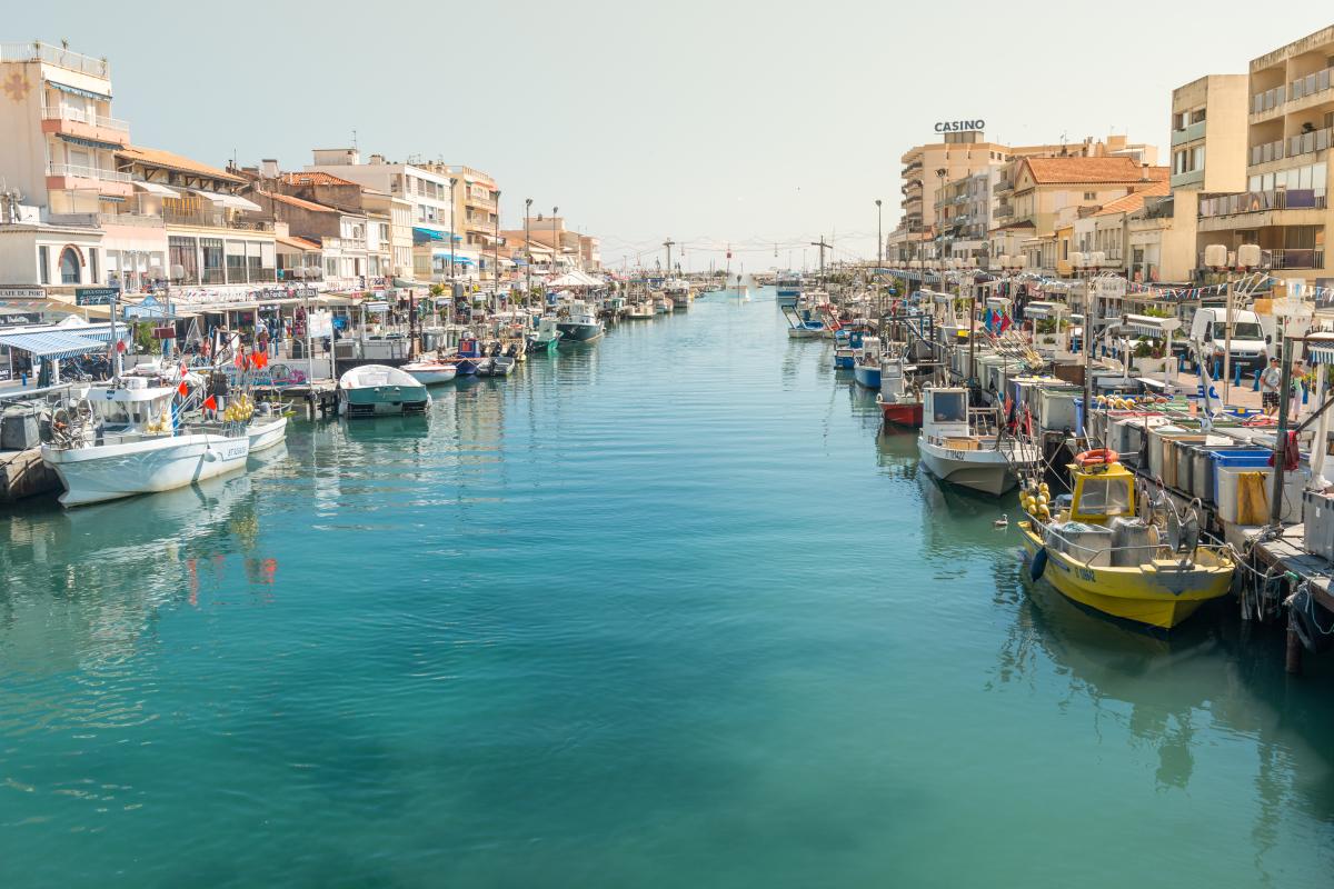 Le canal de Palavas les Flots