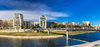 Les bords du Lez à Montpellier