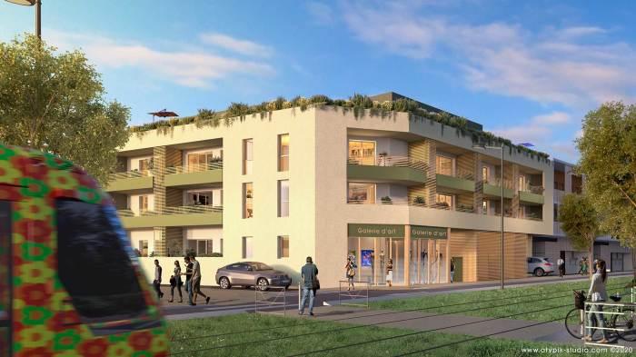 Appartements neufs Castelnau-le-Lez référence 5121 : aperçu n°0