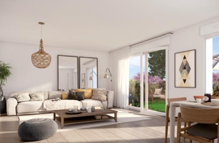 Appartements neufs Castelnau-le-Lez référence 5121 : aperçu n°2