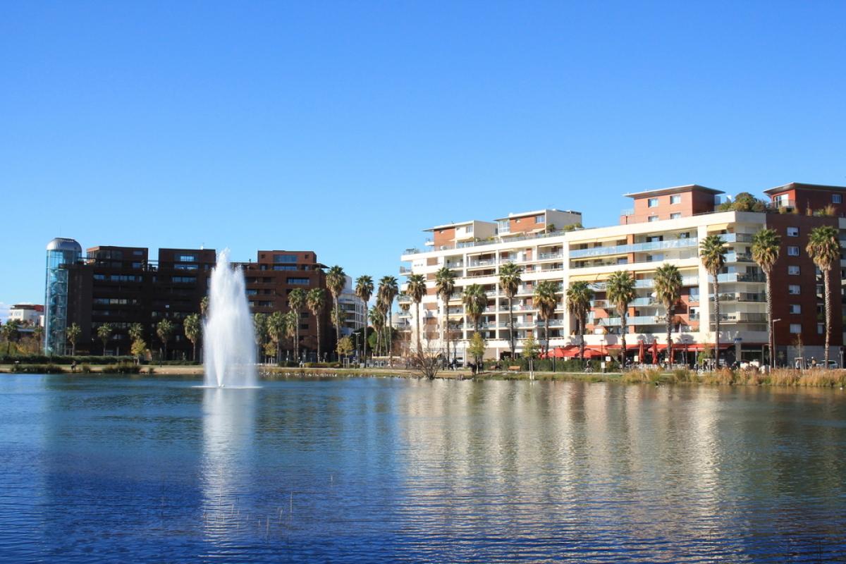 Promoteur immobilier à Montpellier - Le bassin Jacques Cœur dans le quartier Montpellier Port Marianne