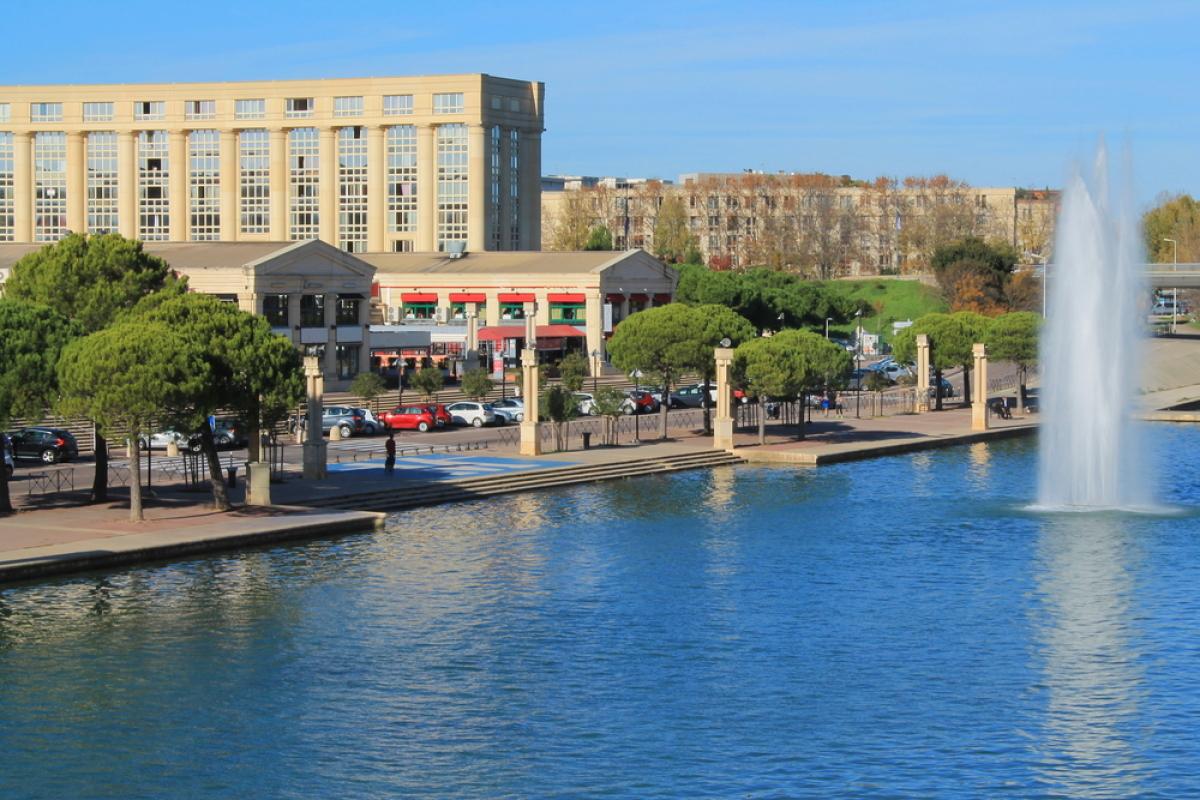 Résidence étudiante à Montpellier - Le quartier Antigone à Montpellier