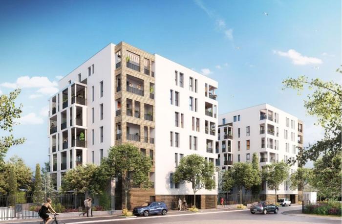 Appartements neufs Mosson référence 5128 : aperçu n°0