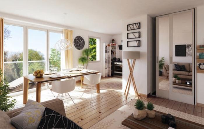 Appartements neufs Mosson référence 5128 : aperçu n°1