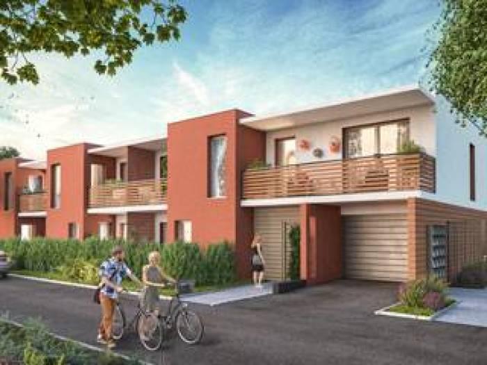 Appartements neufs La Pompignane référence 5132 : aperçu n°2