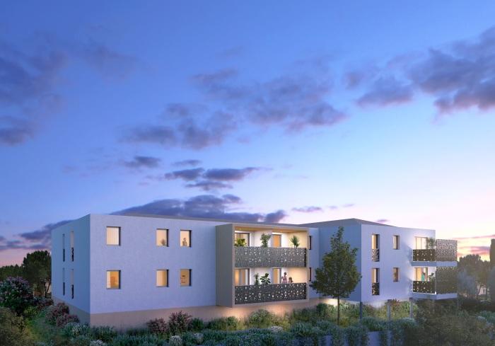 Appartements neufs Mauguio référence 5133 : aperçu n°2