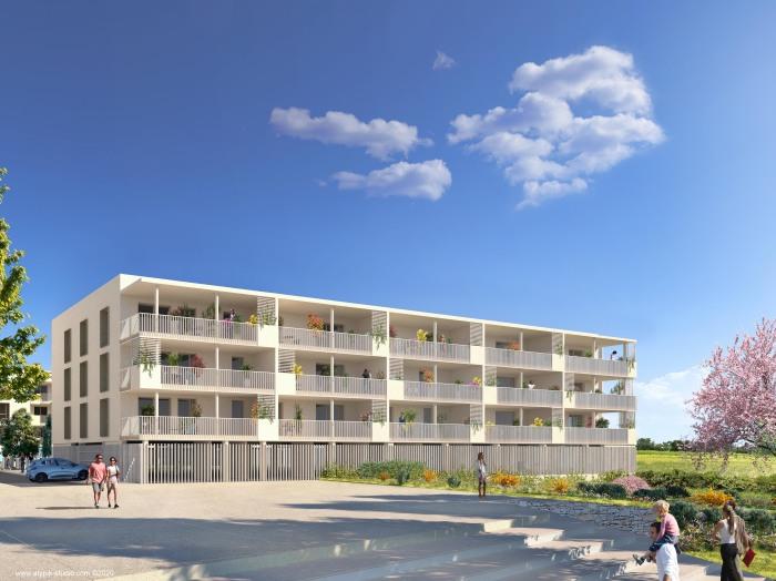 Appartements neufs Mauguio référence 5134 : aperçu n°2