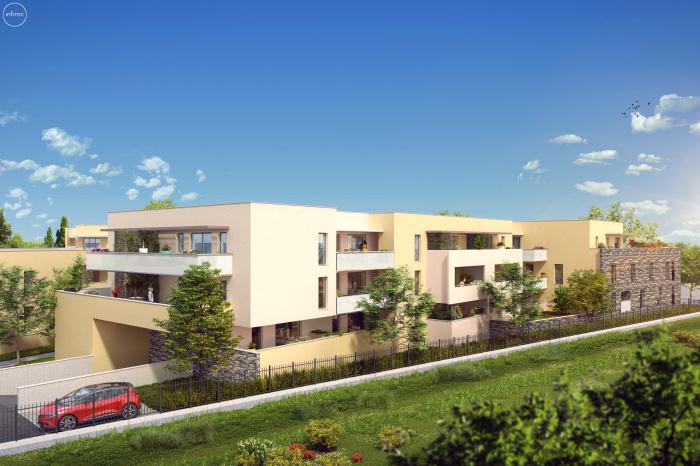 Appartements neufs Villeneuve-lès-Maguelone référence 5135 : aperçu n°0