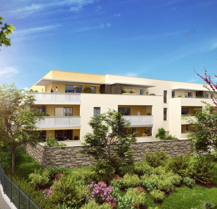 Appartements neufs Villeneuve-lès-Maguelone référence 5135 : aperçu n°3