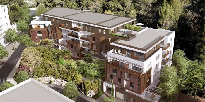 Appartements neufs Les Hôpitaux-Facultés référence 5282 : aperçu n°0