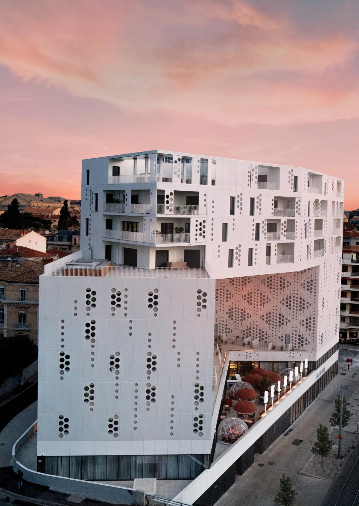 Immeuble Belaroia à Montpellier – Des logements neufs dans le centre de la ville