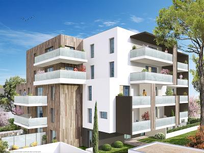 Appartements neufs Aiguelongue référence 5144