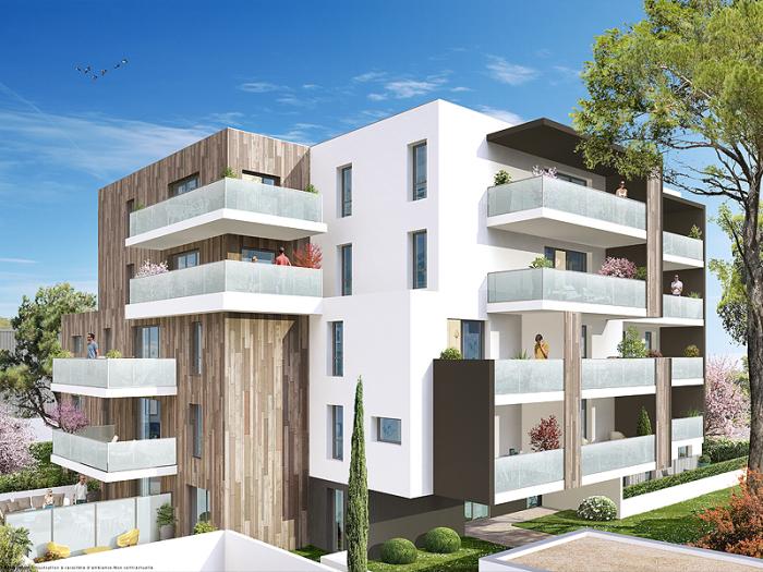 Appartements neufs Aiguelongue référence 5144 : aperçu n°0