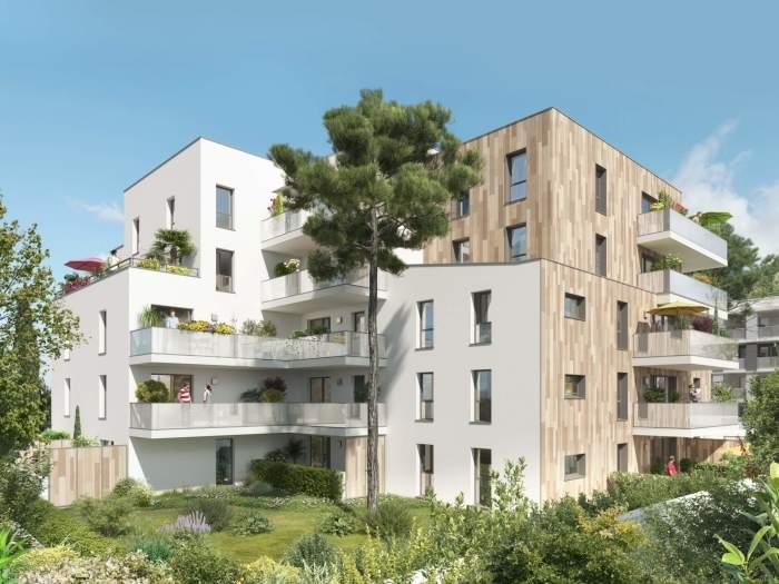 Appartements neufs Aiguelongue référence 5144 : aperçu n°3