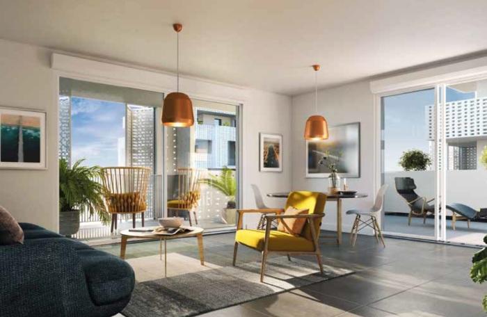 Appartements neufs Castelnau-le-Lez référence 5149 : aperçu n°1