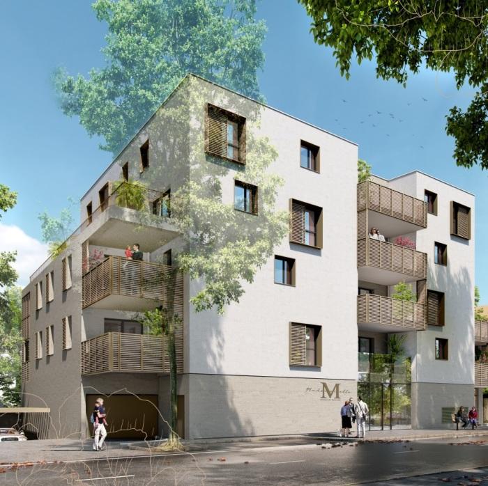 Appartements neufs Les Beaux-Arts référence 5243 : aperçu n°0