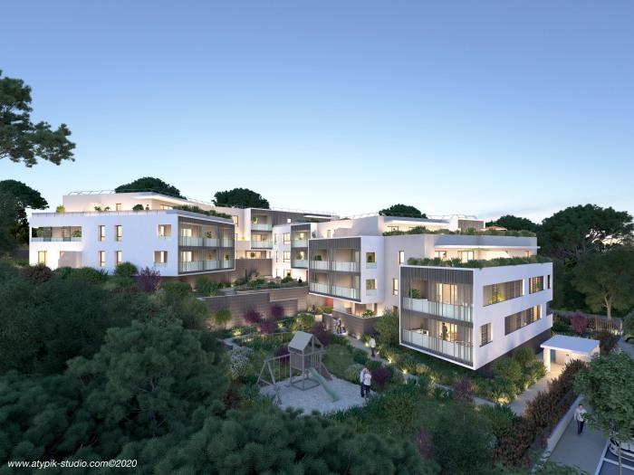 Appartements neufs Saint-Aunès référence 5274 : aperçu n°0