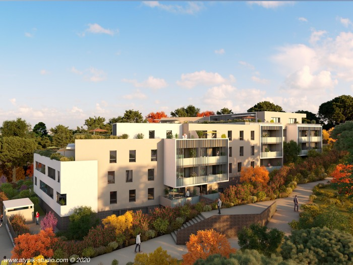 Appartements neufs Saint-Aunès référence 5274 : aperçu n°3