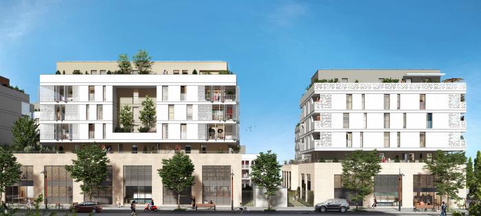 Appartements neufs Près d'Arènes référence 5196 : aperçu n°2