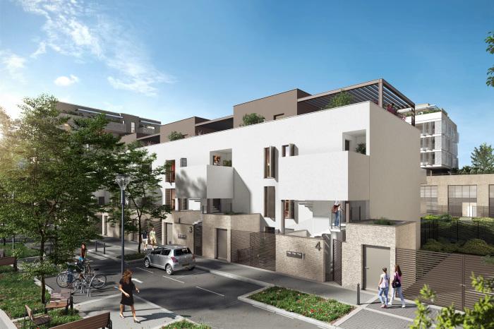Appartements neufs Près d'Arènes référence 5196 : aperçu n°3