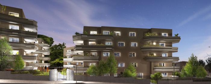 Appartements neufs Les Hôpitaux-Facultés référence 5204 : aperçu n°3