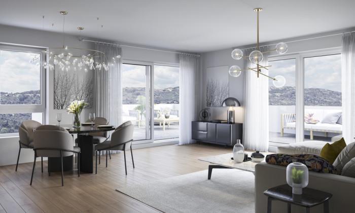 Appartements neufs Fabrègues référence 5206 : aperçu n°1
