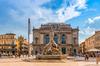 Pyramide d'Argent - Fontaine ville de Montpellier