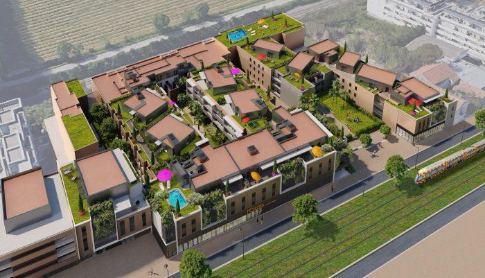Appartements neufs Castelnau-le-Lez référence 5231 : aperçu n°2