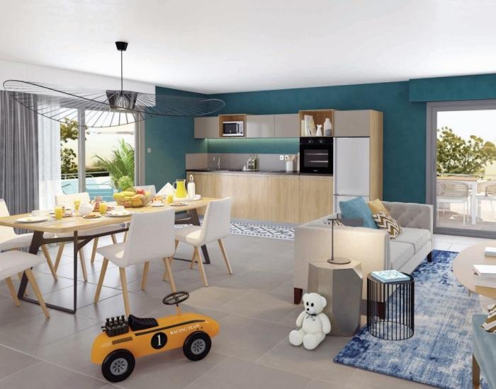 Appartements neufs Castelnau-le-Lez référence 5231 : aperçu n°1