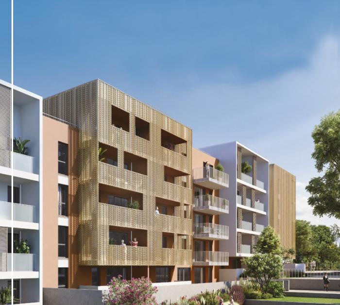 Appartements neufs Les Hôpitaux-Facultés référence 5346 : aperçu n°0
