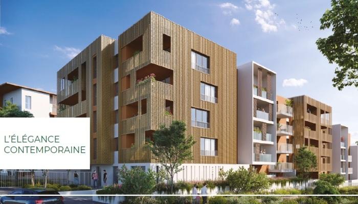 Appartements neufs Les Hôpitaux-Facultés référence 5346 : aperçu n°2