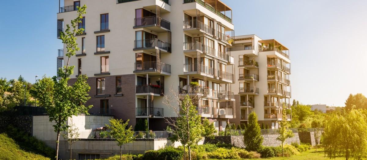 achat appartement montpellier - Une résidence récente entourée d'un espace vert