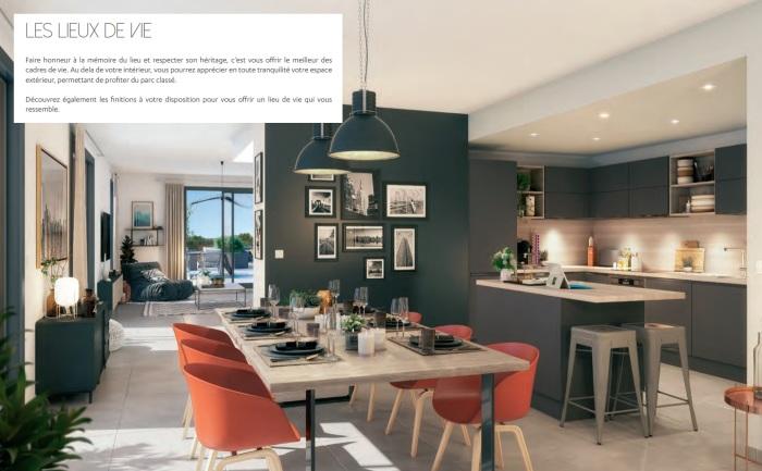 Appartements neufs Boutonnet référence 5501 : aperçu n°1